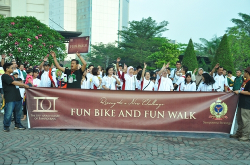 Fun & Healthy Sunday at Sampoerna Fun Day